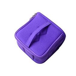 13-Slots Essential Oil Carrying Case Portable Handle Bag