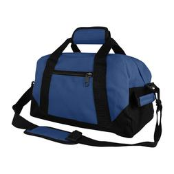 """DALIX 14"""" Small Duffle Bag Two Toned Gym Travel 600D Polyest"""