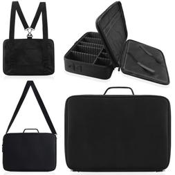 """16"""" Professional Makeup Train Case Cosmetic Travel Storage O"""
