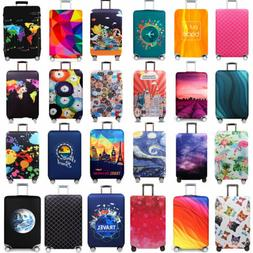 "18""-32"" Travel Luggage Protector Suitcase Dust Cover Proof B"