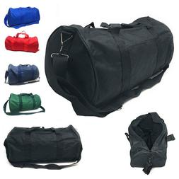 Casaba 18 inch Duffle Bag w Strap Travel Sports Gym Work Sch