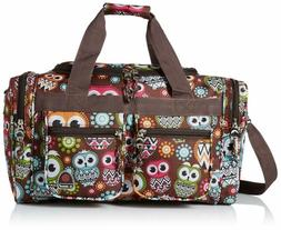 "Rockland 19"" Tote Bag, Owl"