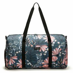 "Jadyn B 22"" Women's Weekender Duffel Bag with Shoe Pocket, N"