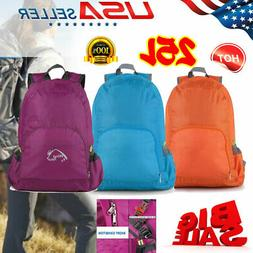 25L Hiking Backpack Camping Rucksack Waterproof Shoulder Tra