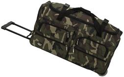 ROCKLAND 30 ROLLING DUFFLE CAMOFLAGE
