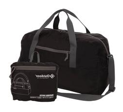 Outdoor Products 58L Packable Duffel Bag, Black | BRAND NEW