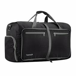 Gonex 60L Foldable Travel Duffel Bag Water & Tear Resistant