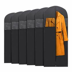 6x PLX Hanging Garment Bags for Storage Travel Suit Bag Dres
