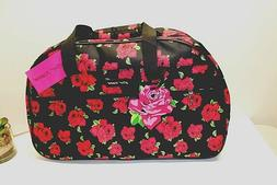 Betsey Johnson COVERED ROSES COLLECTION 22 Inch Rolling Duff