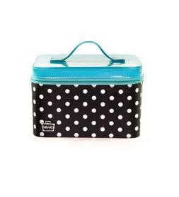 Caboodles Gilded Pleasure Nail Valet with White Polka Dots,