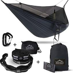 Double Camping Hammock - Everest | Bug & Mosquito Free Campi