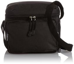 Everest Cooler Lunch Bag, Black, One Size