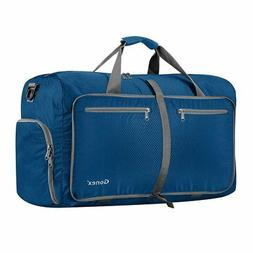 Gonex 60L Foldable Travel Duffel Bag Water & Tear Resistant,