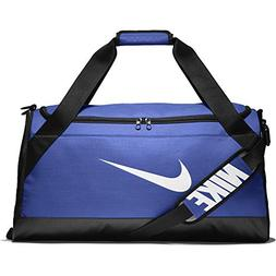 NIKE Brasilia Training Duffel Bag, Game Royal/Black/White, M