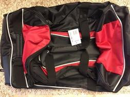 "Samsonite Andante 22"" Wheeled Duffle Bags - Black/Red - New"