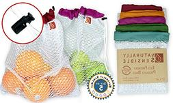 The Original Eco Friendly See Through Washable and Reusable