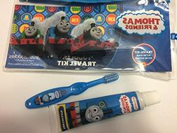 Thomas and Friends Toddler Travel Kit Manual Toothbrush Brus