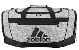 adidas Defender III Duffel Bag-Onix Jersey/Black, Medium