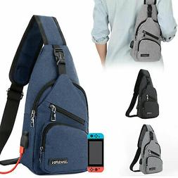 Backpack Travel Bag Protective Carrying Case USB Charging Fo