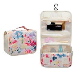 Cosmetic Makeup Bag Case,Hanging Toiletry Bag,Travel Organiz