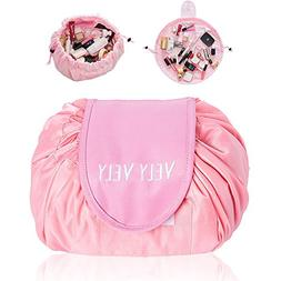 BAIYA Fashion Cosmetic Bag Large Capacity Lazy Makeup Toilet