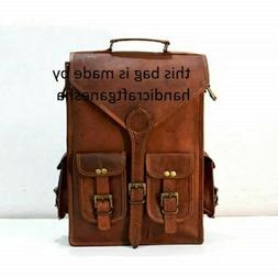 bag rucksack and laptop vintage shoulder travel