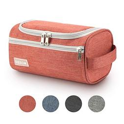 Makeup Bag,Mossio Large Cute Portable Grooming Cosmetic Case