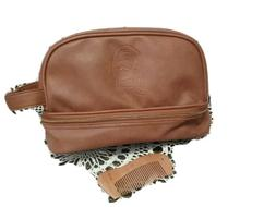 Imperial Beard brown Toiletry or travel bag brand new with w