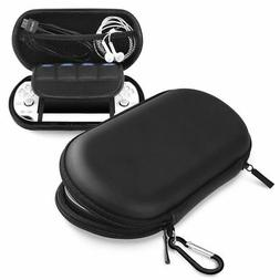 Black Hard Travel Pouch EVA Case Carrying Bag For Sony PS Vi