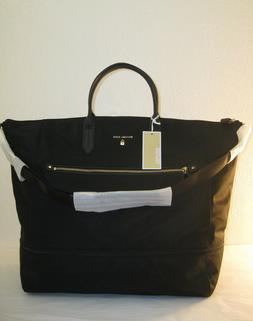 Michael Kors Black Nylon Kelsey XLarge Expandable Travel Tot