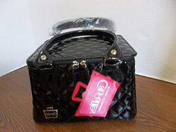 caboodles tapered tote sassy makeup cosmetic bag