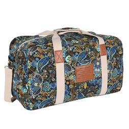 Malirona Canvas Weekender Bag Travel Duffel Bag for Weekend
