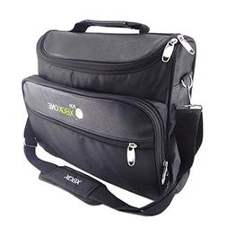 Travel Carry Case Bag for Microsoft Ms Xbox 360 Console Shou