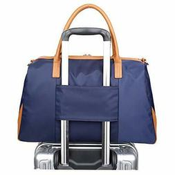 Ulgoo Carry On Tote Bag for Woman Weekend Travel Shoulder Ba