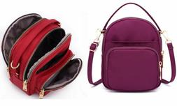 Casual Bags Waterproof Solid Purse Travel Messenger Tiny Bag