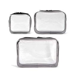 clear cosmetics bags