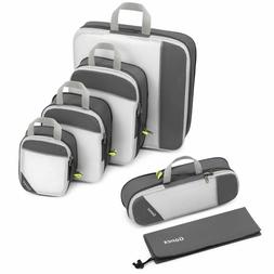 Pouch Pouch Travel Pouch Organizer Foldable Storage Bags Travel Luggage Pack Organ Cube Suitcase Packing Accessory Mesh 6pcs Clothes Storage Bags Travel Luggage Packing Cube Organizer Pouch
