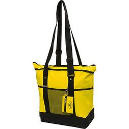 Everest Deluxe Sporting Tote 10 Colors Fabric Handbag NEW