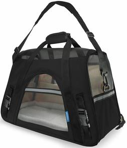 Large Dog Travel Carrier Bag Dog Cat Soft Sided Comfort Appr