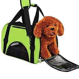 Dog Cat Travel Carrier,Lonni Outdoor Airline Approved Travel