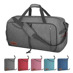 Canway 115L Travel Duffel Bag, Foldable Weekender Bag with S