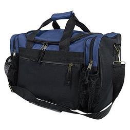 """DALIX 17"""" Duffle Travel Bag with Dual Front Mesh Pockets in"""