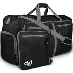 80L Extra Large Foldable Travel Duffle Bag with Pockets - BB