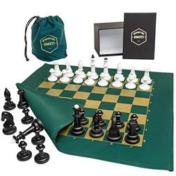 fabric board chess set unique