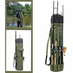 Fishing Tackle Storage Bags & Wraps Rod Holder Carrier Pole