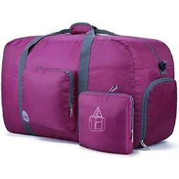 "28"" Foldable Duffle Bag 80L for Travel Gym Sports Lightweigh"