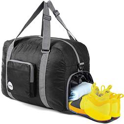 "20"" Foldable Duffle Bag 40L for Travel Gym Sports Lightweigh"