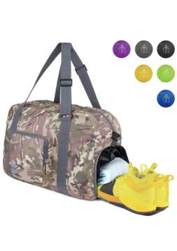 WANDF Foldable Duffle Bag for Travel Gym Sports 28in Lightwe
