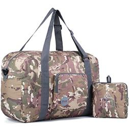 WANDF Foldable Military Tactical Duffle Bag Back Up Bag Gym
