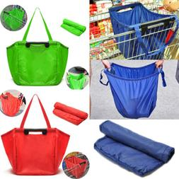 Foldable Pouch Grocery Shoulder Bag Shopping Bag Travel Fold